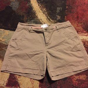 Lee one true fit shorts size 10 medium